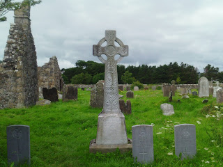 Ruined friary church, Ballycastle Church, Ireland