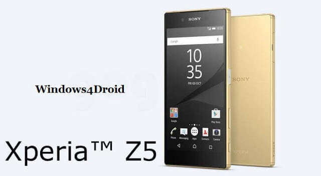 HOW To ROOT Sony Xperia Z5 E6653 on Android 7 1 1