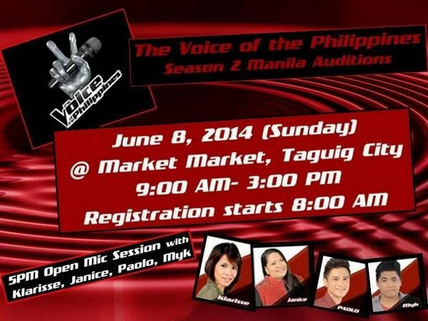 The Voice PH Manila auditions
