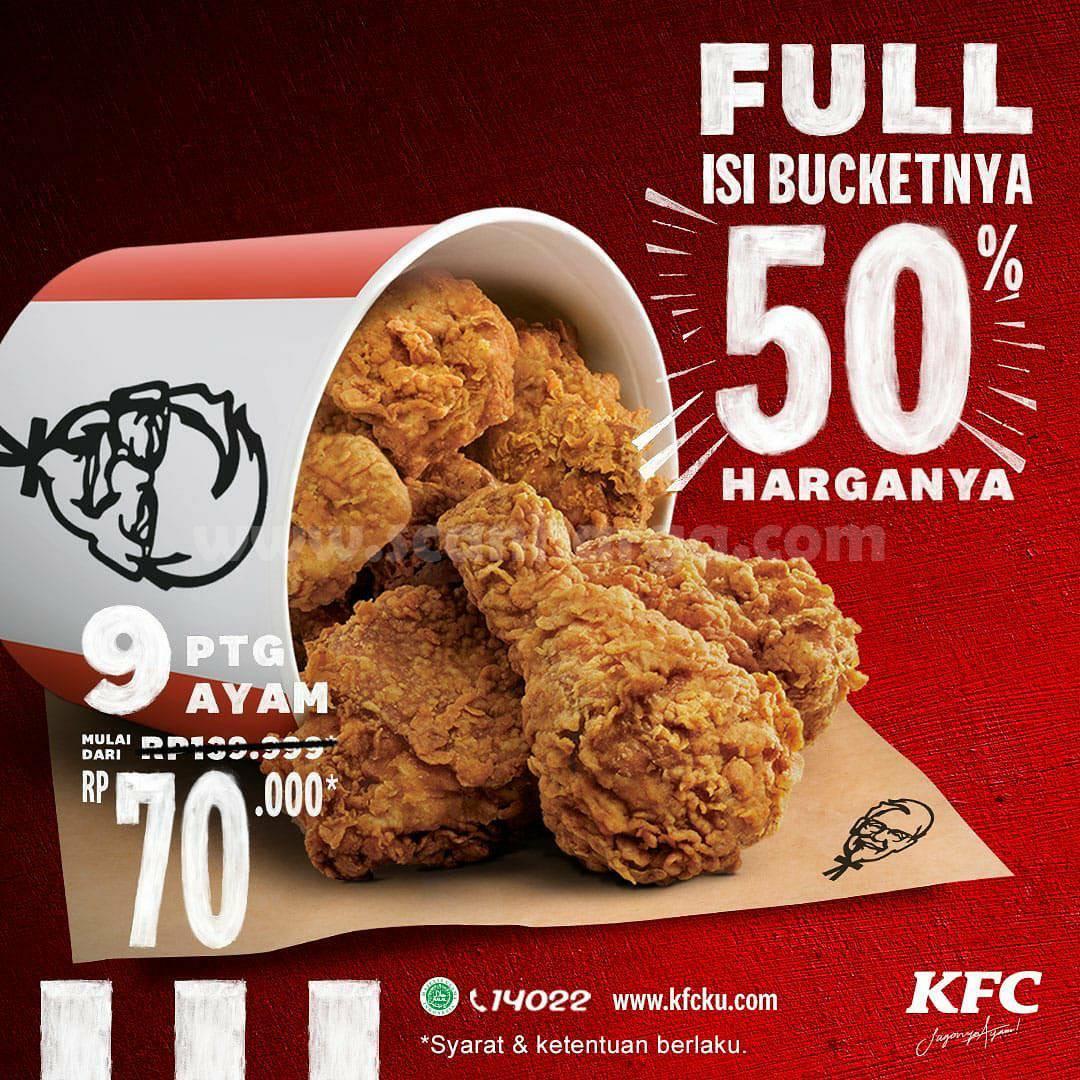 Promo KFC Terbaru 9 - 11 November 2020