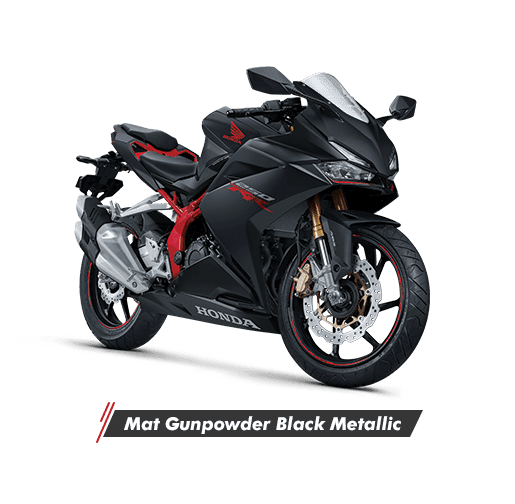 All New Honda CBR 250R Mat Gunpowder Black Metallic  2020 Sejahtera Mulia Cirebon
