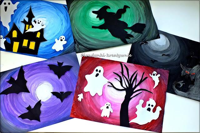 Kreatywne Halloween - prace pastyczne