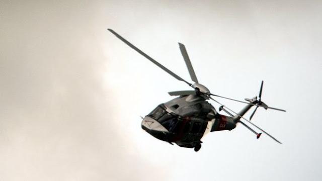Випав пілот з гелікоптера