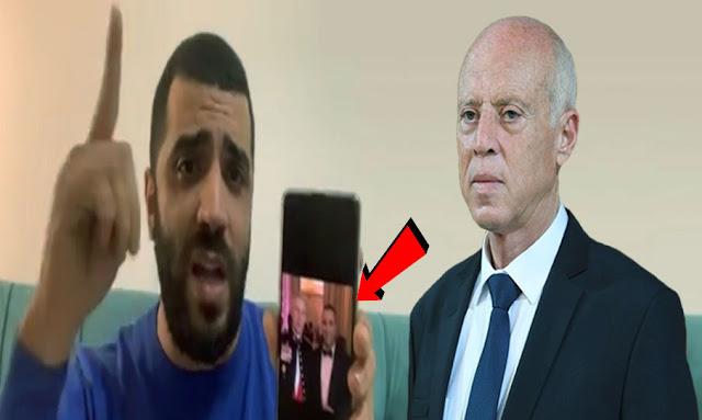 Rached Khiari lance de graves accusations à l'encontre de Kaïs Saïed et promet des fuites