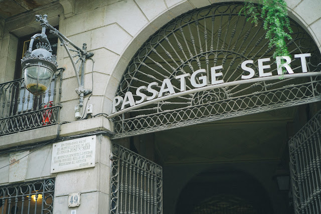 パサジェ・デ・セルト(Passatge de Sert)