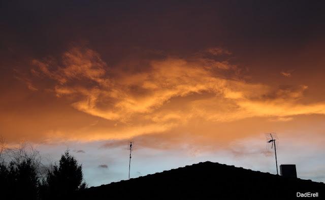 Ciel de crépuscule