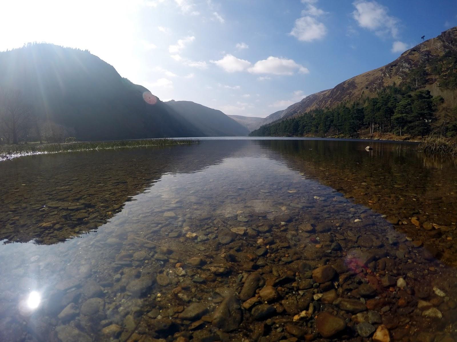 Wicklow mountains, Lough Tay, Guinness lake, tours, explore, Ireland, Dublin countryside, trip from Dublin, Glendalough,
