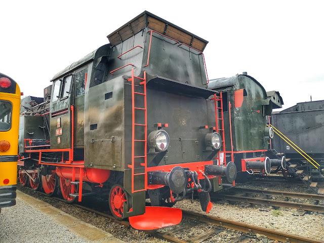 parowozy PKP, muzeum, historia Polski, wagony