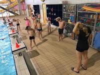 Letošní první lekce plavání - 1. - 3. ročník ZŠ