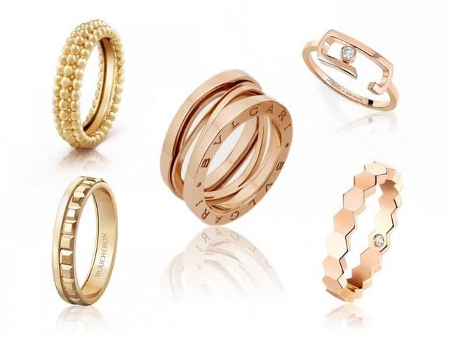 اشكال محابس ذهب 2   Gold Engagement Rings Forms 2