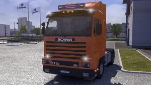Scania 143M + Interior + Sound Mod (1.4.8)