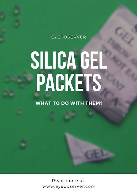 Don't Throw Silica Gel Packets Out - What To Do With Them