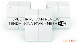 Whole Home Mesh Tenda Nova Mw6