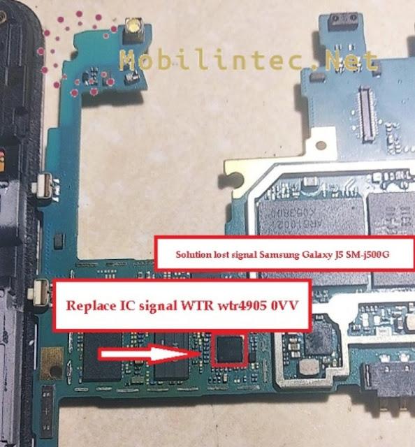 Fix No Signal Or Weak Signal Samsung Galaxy J5 SM-j500G