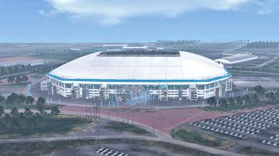 PES 2017 Stadium Veltins-Arena with Exterior View