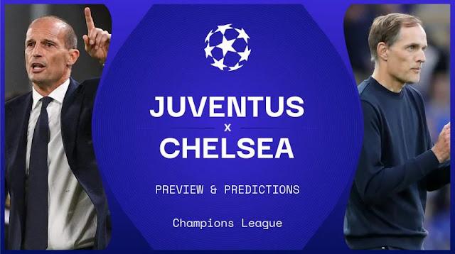 Prediksi Juventus vs Chelsea : Jadwal Liga Champions Pekan Ke-2