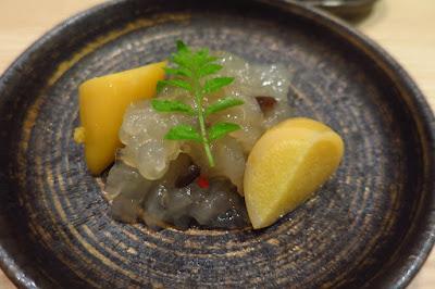 Kyoten Japanese Cuisine, jellyfish squid roe