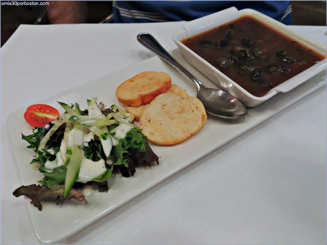 Estofado de Caracoles del Restaurante Bistro Sous le Fort, Ciudad de Quebec