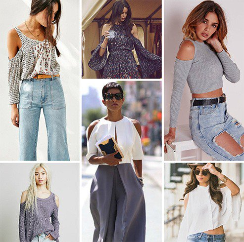5344481e57ce6 Swanky Van  COLD SHOULDER   A New Trend Of 2017