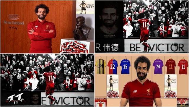 Mohamed Salah Start Screen PES 2017 & PES 2018