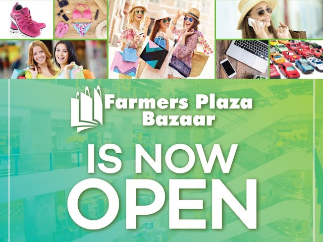 Farmers Plaza Bazaar resumes operations