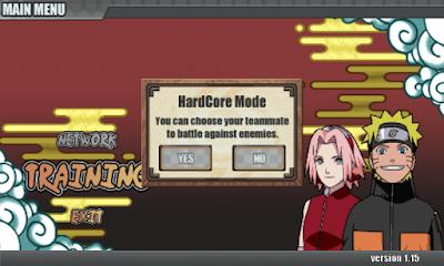 Cara Membuka Hardcore Mode Naruto Senki Tanpa MOD