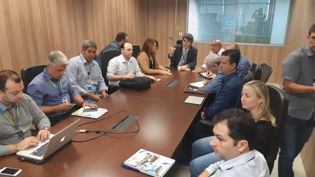 Prefeitura e Compesa discutem implantações dos Sistemas de Esgotamento Sanitário de Goiana e Ponta de Pedras