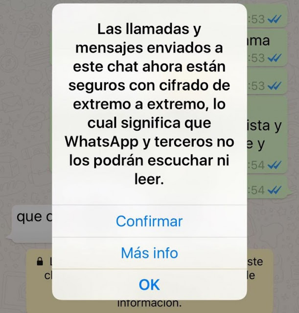 WhatsApp ofrece comunicación encriptada para más privacidad