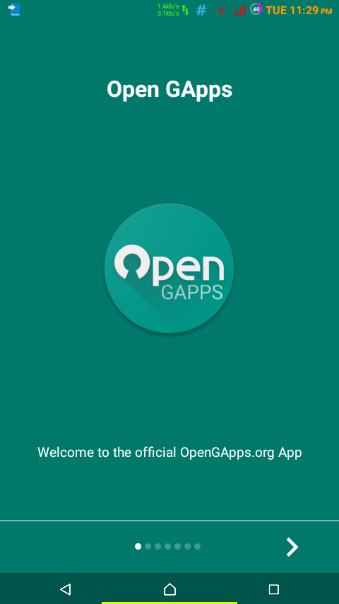 Gapps download android 422