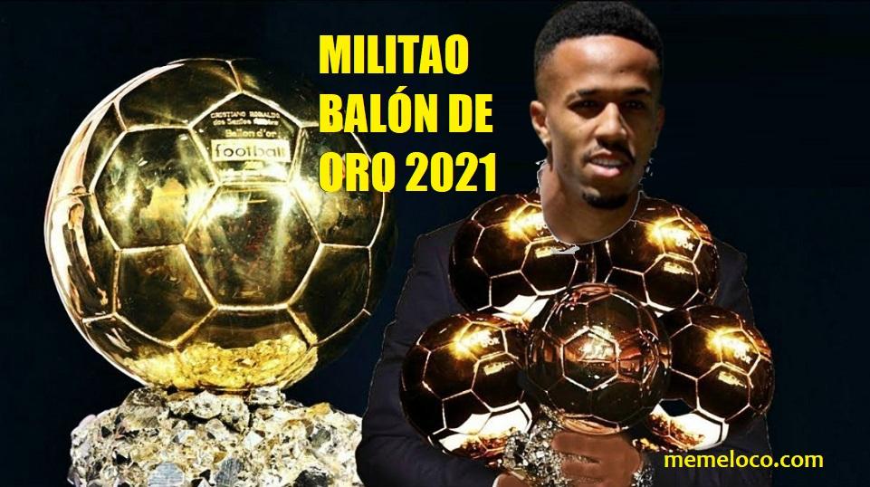 Militao Balón de Oro 2021