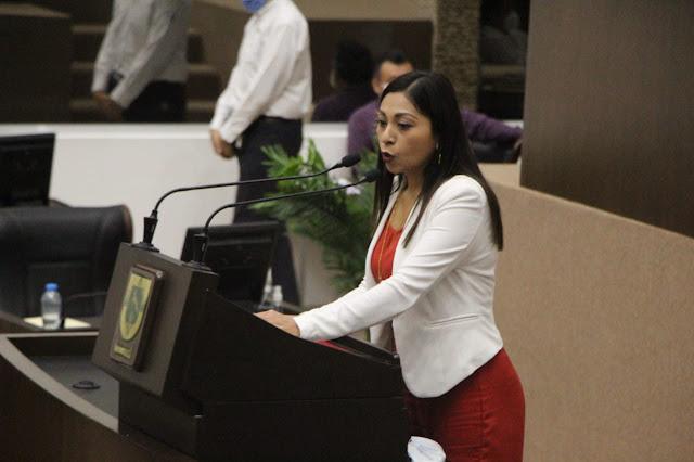 La diputada de Morena, Fátima Perera Salazar. Foto Antonio Sánchez