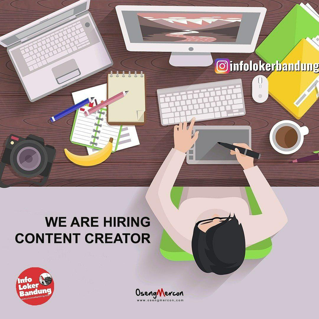 Lowongan Kerja Content Creator Oseng Mercon Bandung Agustus 2019
