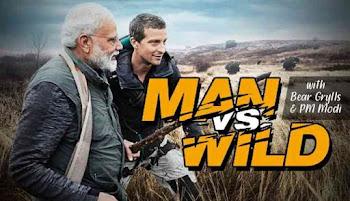 Man vs Wild Ft. PM Narendra Modi (Hindi)