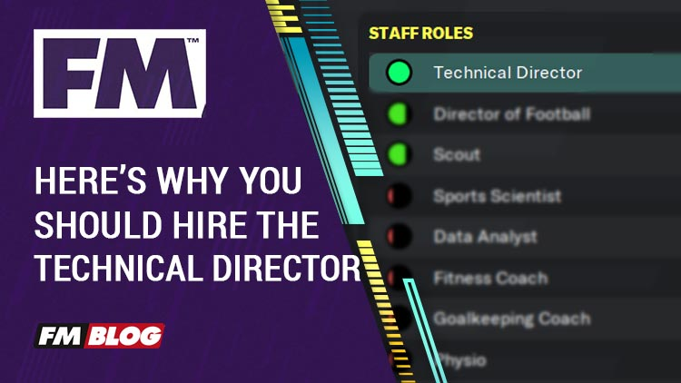 Technical Director in Football Manager 2020