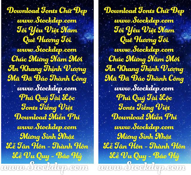 Download fonts Blenda Script Tiếng việt