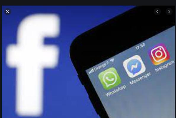 Per diversi minuti in tutto il mondo, Facebook, Messenger e Instagram in down