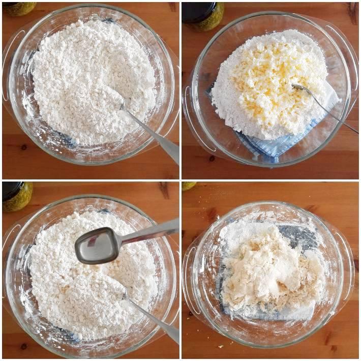 Cómo hacer la masa quebrada para la base de la tarta