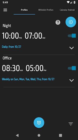 تنزيل برنامج  Do Not Disturb - Silent Mode  تطبيق اندرويد  الذكي والتلقائي الصامت