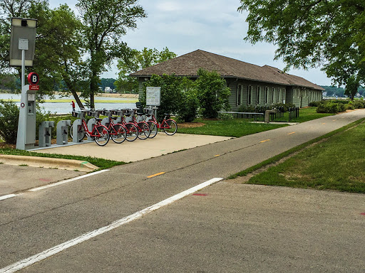 BCycle Station on the Southwest Commuter Path - Madison WI
