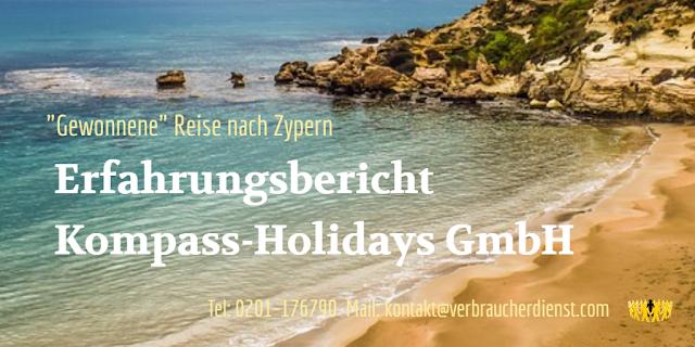 Erfahrungsbericht Kompass-Holidays GmbH: Zypern
