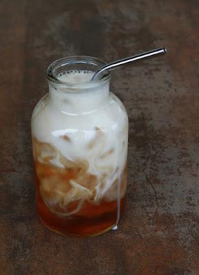 Gambar teh kelapa