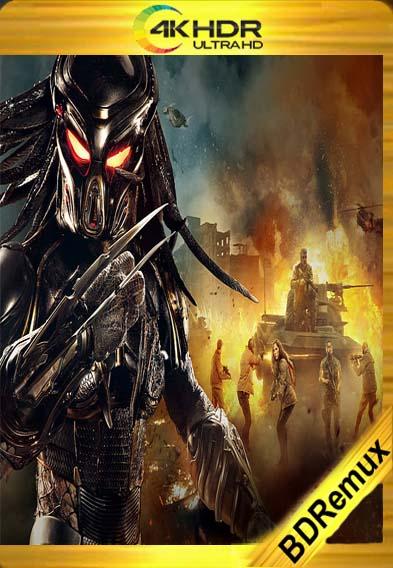 El Depredador (2018) [1080p BD REMUX 4K] [Latino-Inglés] [LaPipiotaHD]
