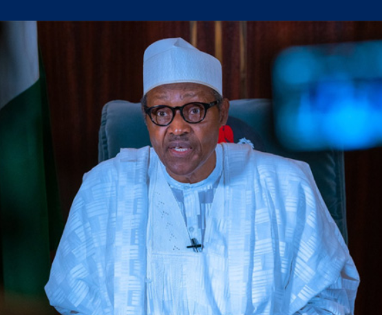 Breaking: President Buhari addresses the nation for the third time on the COVID-19.