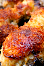 The Best Oven-Fried Panko Crusted Chicken Drumsticks