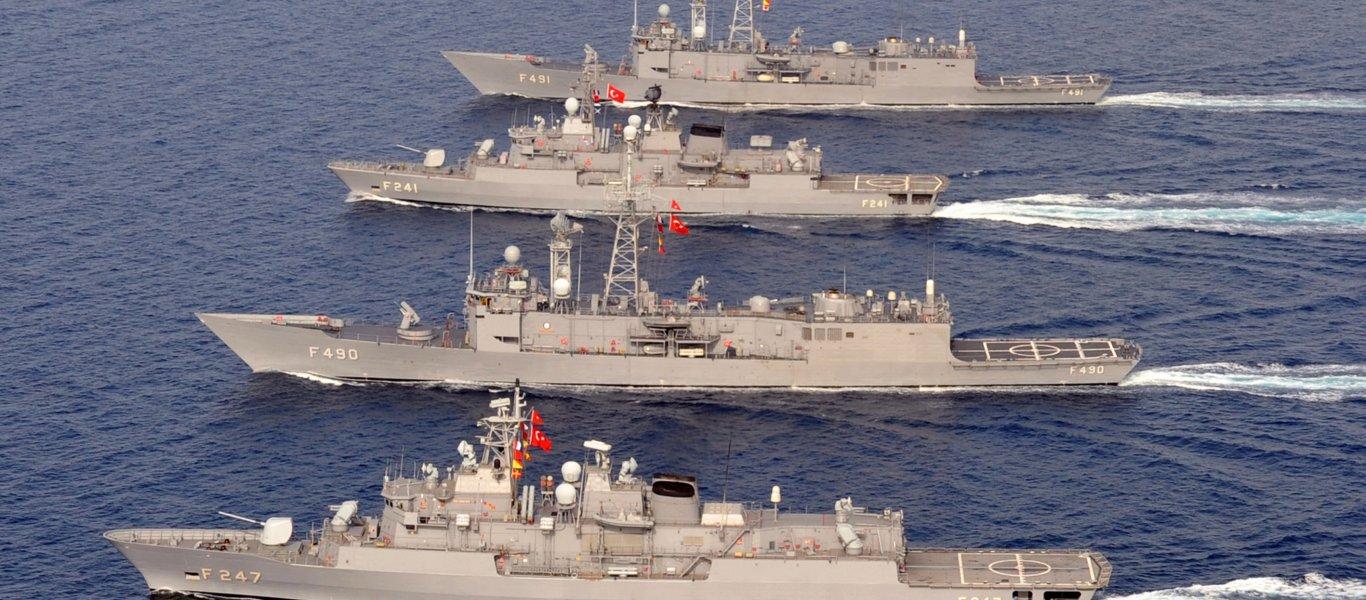 Οι Τούρκοι «γράφουν κανονικά» τα ΜΟΕ και «δεσμεύουν» με «NAVTEX» μέχρι και την Εύβοια