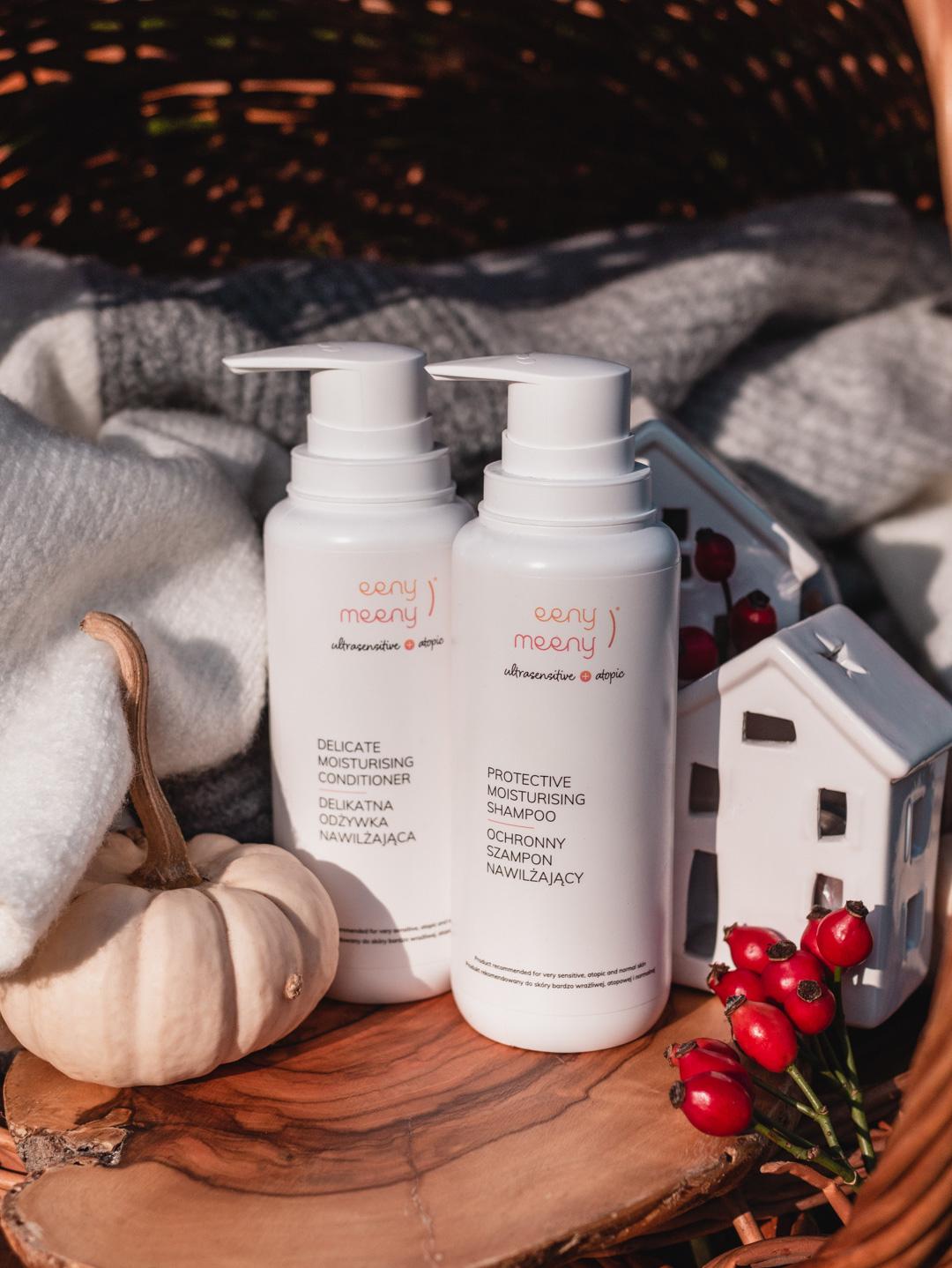 Ulubieńcy ostatnich miesięcy | Eeny Meeny Ochronny szampon nawilżający i Delikatna odżywka nawilżająca