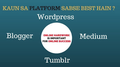information about top blogging platform