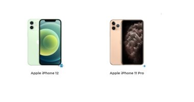 أهم  الاختلافات بين هاتفى iPhone 12 وiPhone 11 Pro