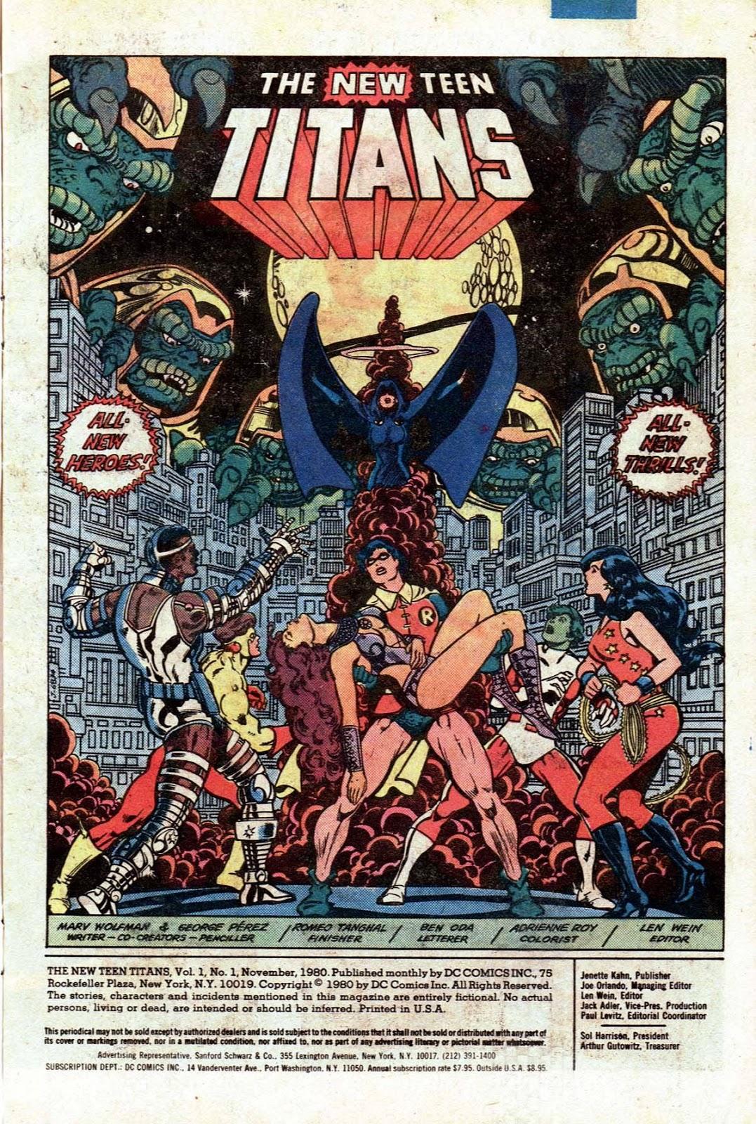 1980S Teen Titans