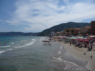 Alassio strand, Italie: www.alassio.nl